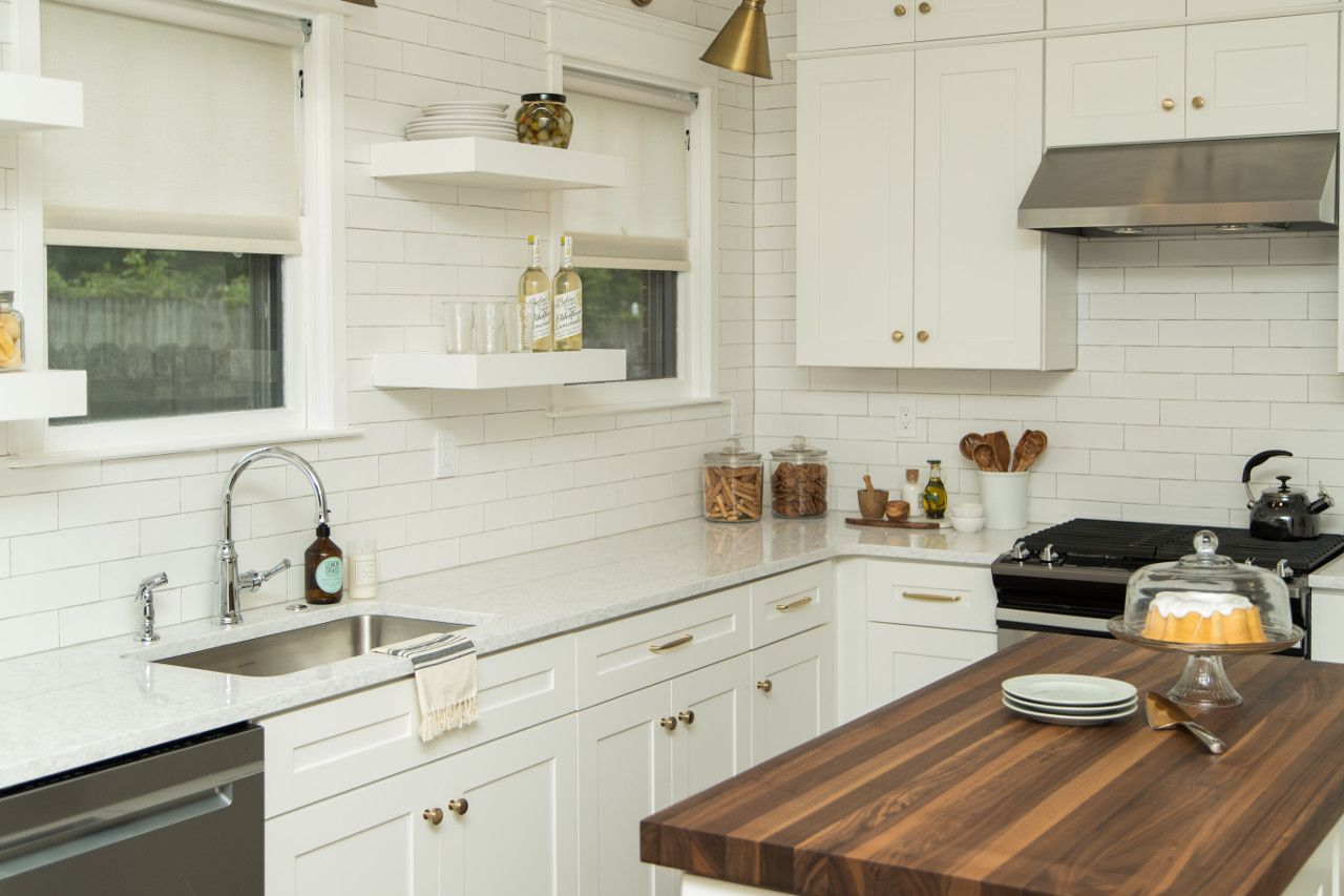 Dove White Shaker - White Cabinet by Jarlin